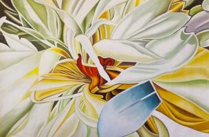 Leah Gomesh. Delicate lily