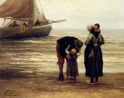 Филипп Людовик Якоб Сади. Прощание рыбака