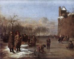 Адриан ван де Вельде. Зима
