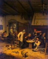 Адриан ван Остаде. Крестьянское общество