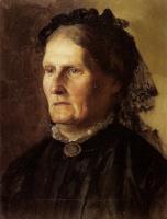Генрих Ипполитович Семирадский. Портрет матери художника