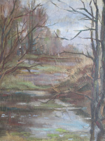 Arkady Pavlovich Laptev. Autumn gloom