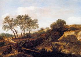 Питер де Молейн. Пейзаж дюн