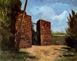 Карло Карра. Врата