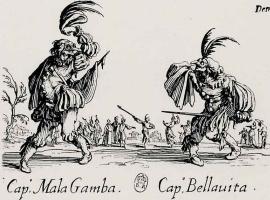 Жак Калло. Капитан Мала Гамба и капитан Беллавита