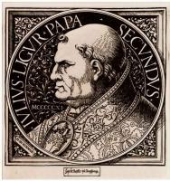 Ханс Бургкмайр Старший. Портрет папы Юлия II