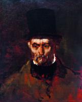 """Михай Либ Мункачи. Портрет пожилого мужчины. Этюд для картины """"В ломбарде"""""""