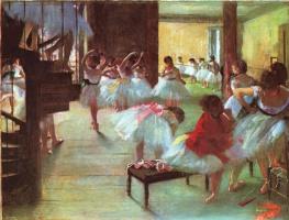 Edgar Degas. Ballet shoes