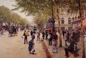 Jean Bero. Boulevard Des Capucines