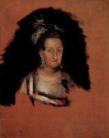 Франсиско Гойя. Мария Хозефа де Бурбон, инфанта Испанская
