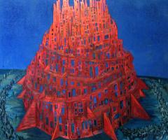Максим Карлович Кантор. Вавилонская башня