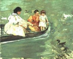 Мэри Кассат. На воде