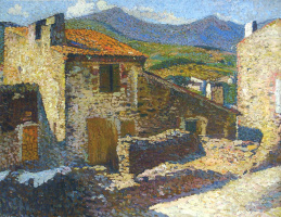 Анри Мартен. Деревня