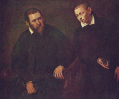 Jacopo Tintoretto. Double portrait