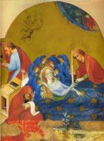 Конрад фон Зост. Алтарь Святой Марии. Фрагмент: Успение Девы Марии