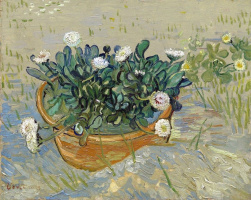 Vincent van Gogh. A pot of daisies