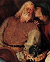 Питер Брейгель Старший. Поклонение волхвов. Фрагмент 2