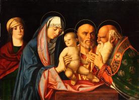 Unknown artist. Die Darbringung Christi im Tempel