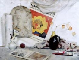 Екатерина Ивановна Киселева. Белый натюрморт