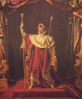 Жак-Луи Давид. Наполеон в облачении императора