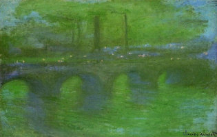 Claude Monet. Waterloo bridge, dawn
