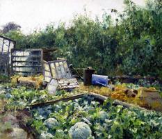 Mikhail Andreevich Bercos. Mala Danylivka. Greenhouses