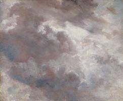Облака. Этюд