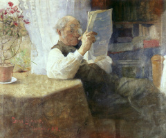 Бруно Лильефорс. Портрет отца художника