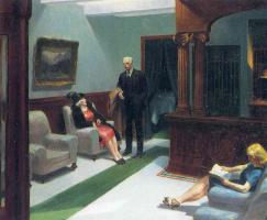 Эдвард Хоппер. В холле гостиницы