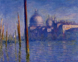 Claude Monet. The Grand canal in Venice
