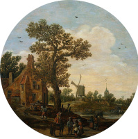 Ян ван Гойен. Лето