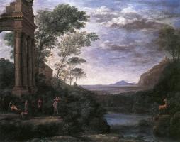 Клод Лоррен. Пейзаж с Асканией