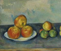Paul Cezanne. Apples