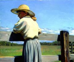 Джеффри Ларсон. Весенний пейзаж