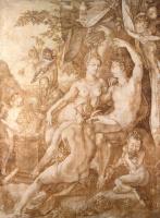 Хендрик Гольциус. Вакх, Венера и Церера. 1606
