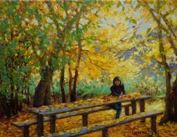 Георгий Васильевич Харченко. Autumn etude