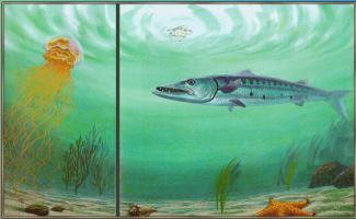 Аликс Берензи. Медуза в океане