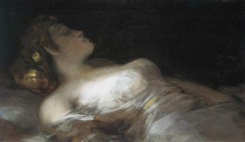 Francisco Goya. Sleep