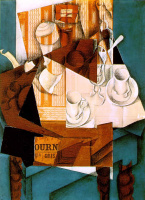 Хуан Грис. Завтрак
