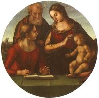 Лука Синьорелли. Мадонна с младенцем