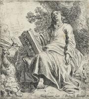 Ян Ливенс. Иоанн Богослов на острове Патмос