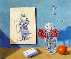 Анхель Планеллс. Цветы в стакане