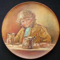 Елизавета Меркурьевна Бём (Эндаурова). Тарелка