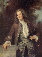 Антуан Ватто. Портрет дворянина