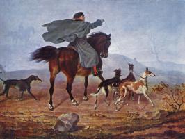 Франц Крюгер. Выезд на охоту