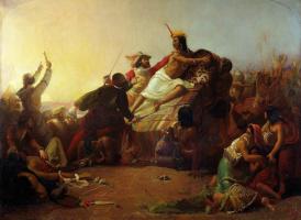 Джон Эверетт Милле. Писсаро берет в плен перуанских инков