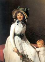 Жак-Луи Давид. Портрет мадам Эмилии Серизиат с сыном