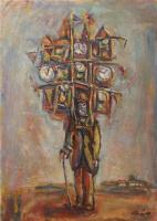 Alexander Grigoryevich Tyshler. The seller hours