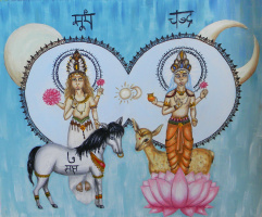 Чандра и Сурья