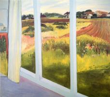 Джейн Фрейличер. Пейзаж из окна